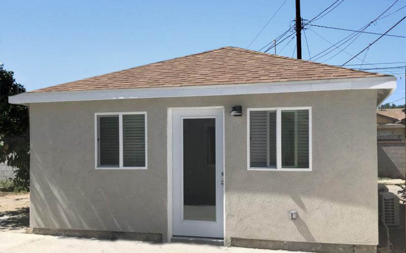 Example for ADU that Converted from a Garage