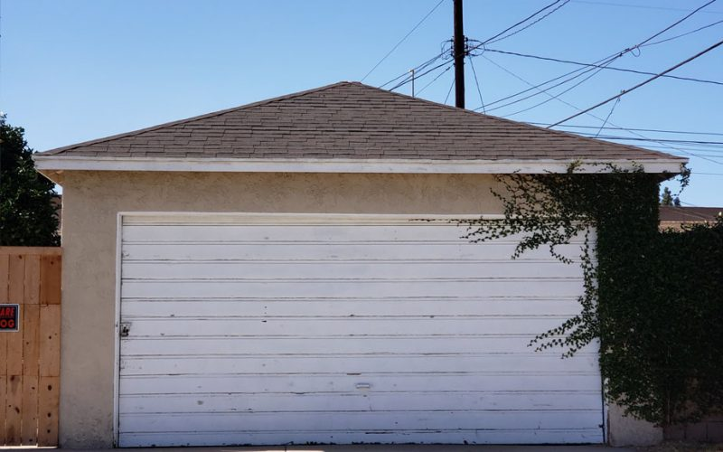 Example for Garage Before ADU Conversion